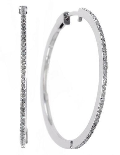 Effy 14k White Gold Diamond Earrings-DIAMOND-One Size