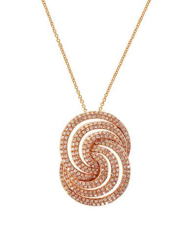 Effy 14K Rose Gold Diamond Pendant-ROSE GOLD-One Size