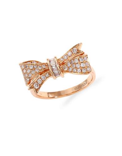 Effy 14K Rose Gold Diamond Ring-ROSE GOLD-7