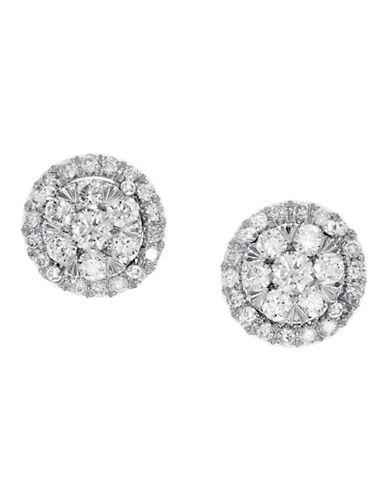 Effy 14K White Gold Diamond Earrings-WHITE DIAMOND-One Size