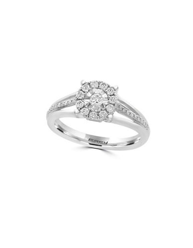 Effy 14K White Gold and 0.92 TCW Diamond Ring-DIAMOND-7
