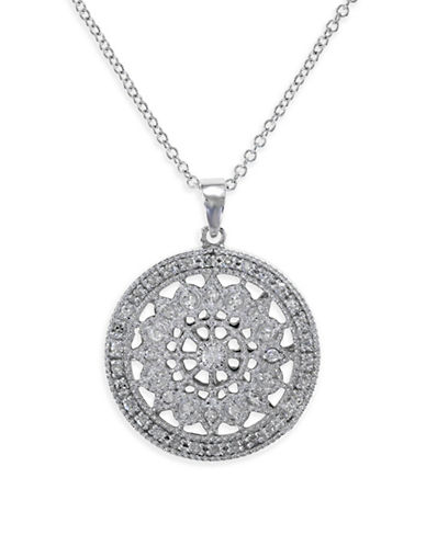 Effy 14K White Gold Pendant Necklace with 0.25 TCW Diamonds-DIAMOND-One Size