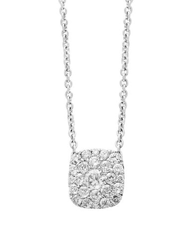 Effy 14K White Gold and 0.48 TCW Diamond Necklace-DIAMOND-One Size