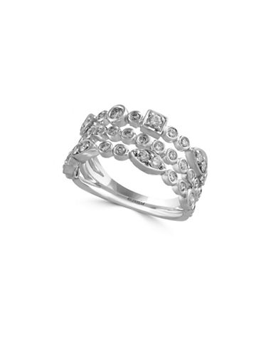 Effy 14K White Gold 0.65 Total Carat Weight Diamond Ring-DIAMOND-7