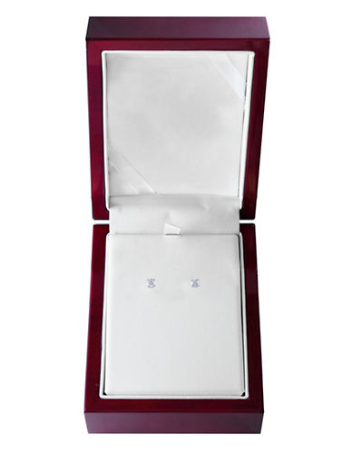 Effy 14K White Gold Stud Earrings with 0.50 Total Carat Weight Diamonds Box Set-WHITE GOLD-One Size