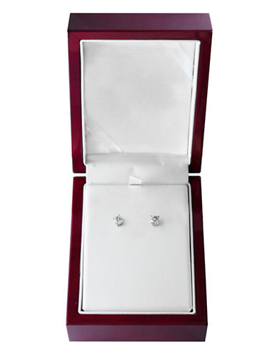 Effy 14K White Gold Stud Earrings with 1.0 Total Carat Weight Diamonds Box Set-WHITE GOLD-One Size