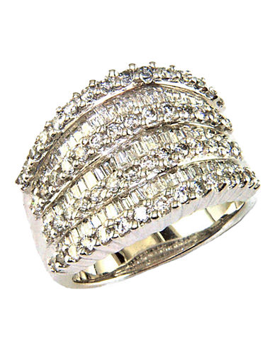 Effy 14K White Gold Ring with 1.47 TCW-DIAMOND-7