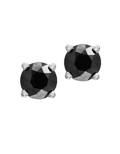 Effy 14K White Gold Earrings with 0.45 TCW Diamond-BLACK-One Size