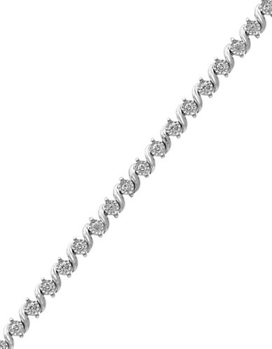 Effy 14K White Gold Tennis Bracelet with 0.39 TCW Diamonds-DIAMOND-One Size