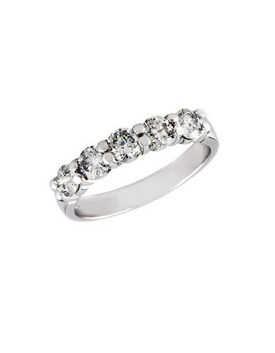 Effy 14K White Gold 1 TCW Diamond Wedding Band-DIAMOND-7