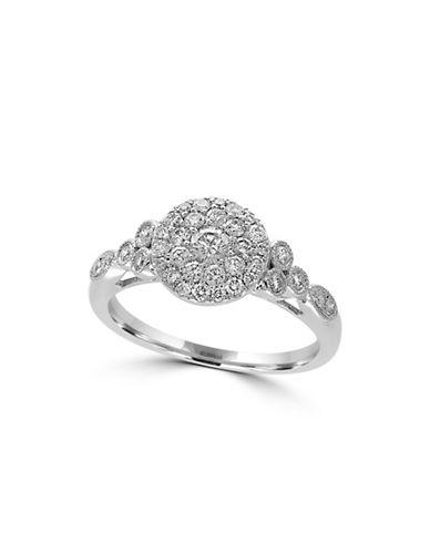 Effy 14K White Gold 0.61TCW Diamond Ring-DIAMOND-7