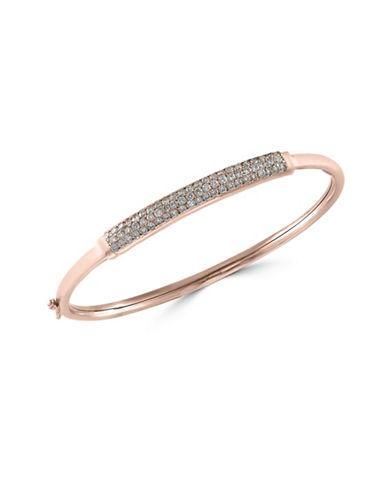 Effy 14K Rose Gold Bangle Bracelet with 1 TCW Diamond-ROSE GOLD-One Size