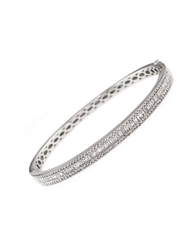 Effy 14k White Gold Diamond Tongue Clasp Bracelet-WHITE GOLD-One Size