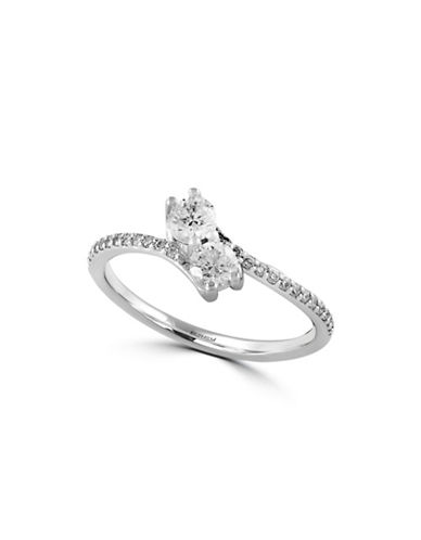 Effy Pave Classica 14K White Gold and 0.51 TCW Diamond Ring-DIAMOND-7