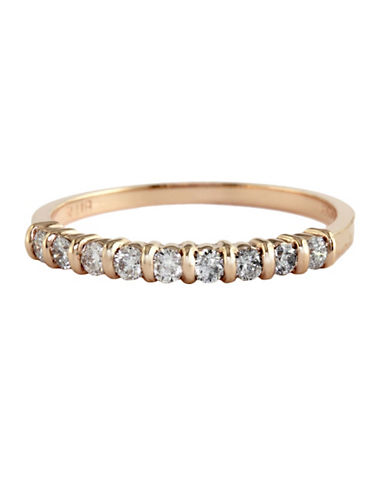 Effy 14K Rose Gold 0.25ct Diamond Stack Ring-DIAMOND-7