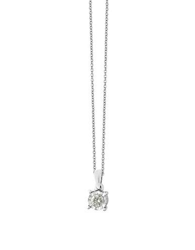 Effy 14k White Gold Diamond Pendant Necklace-DIAMOND-One Size