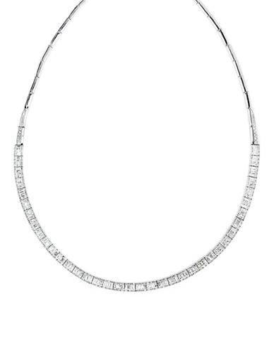 Effy 14K White Gold Diamond Necklace-DIAMOND-One Size