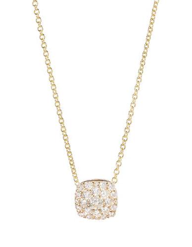Effy Diamond and 14K Gold Pendant Necklace-DIAMOND-One Size