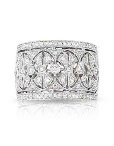 Effy 14K White Gold Ring with 0.56 TCW Diamond-DIAMOND-7