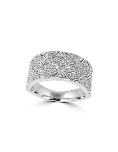 Effy Pave Classica 14K White Gold and 0.48TCW Diamond Ring-DIAMOND-7