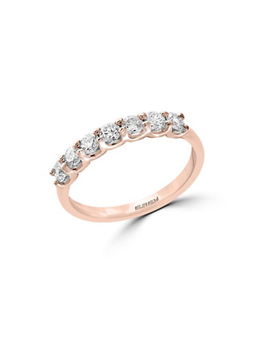 Effy 0.55 TCW Diamonds and 14K Rose Gold Ring-ROSE GOLD-7