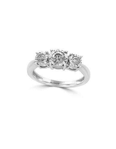 Effy 14K White Gold and 0.49 TCW Diamond Ring-DIAMOND-7