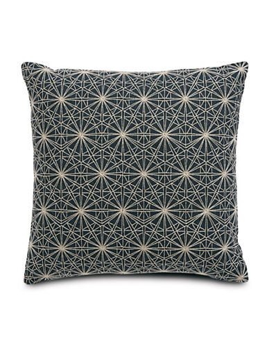 Hotel Collection Modern Woven Square Cushion-BLUE-18x18