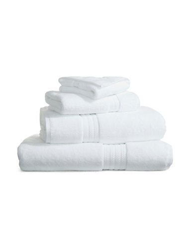Hotel Collection Elite Cotton Blend Wash Cloth-WHITE-Washcloth