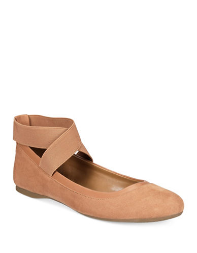 Style And Co. Beaa Ballet Flats-NATURAL-6.5