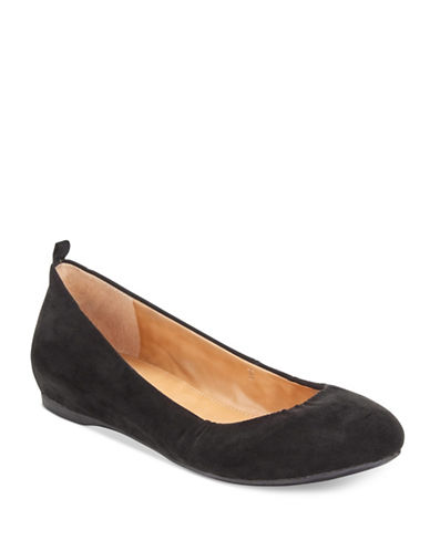 Style And Co. Vinniee Ballet Flats-BLACK-6.5