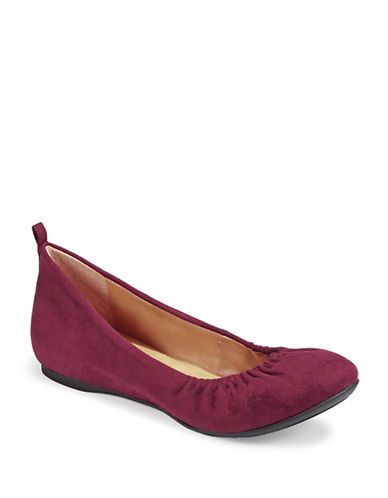 Style And Co. Vinnieef Ballet Flats-RED-8.5