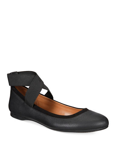 Style And Co. Beaa Ballet Flats-BLACK-7.5