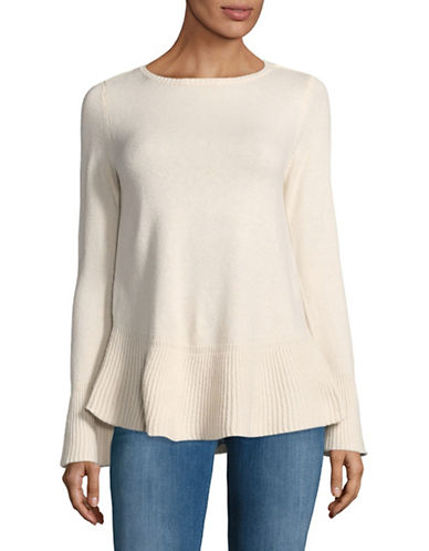 Style And Co. Flared Top-IVORY-XX-Large
