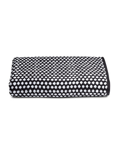 Charter Club Home CC Dot Bath Towel-BLACK-Bath Towel