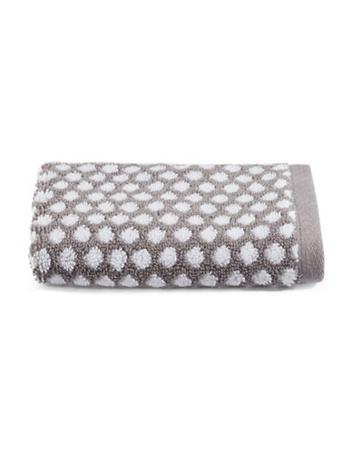 Charter Club Home Dot Cotton Hand Towel-SMOKE-Hand Towel