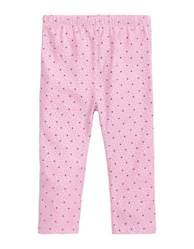 First Impressions Geometrical Leggings-PINK-6-9 Months