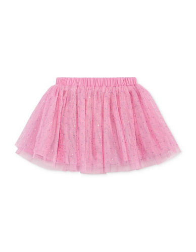 First Impressions Triangle-Print Tutu Skirt-PINK-18 Months