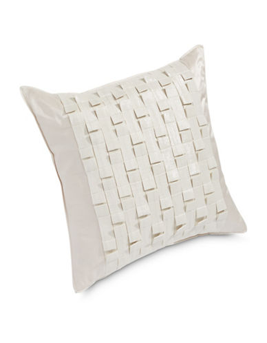 Hotel Collection Lustre Loop Decorative Cushion-GOLD-20x20