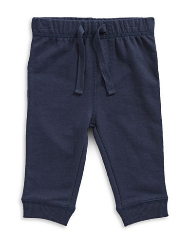 First Impressions Knit Joggers-BLUE-24 Months