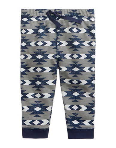 First Impressions Southwestern-Print Joggers-GREY-3-6 Months