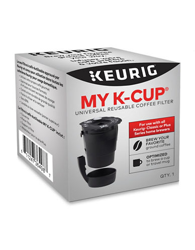 Keurig My K-Cup Reusable Universal Coffee Filter-BLACK-One Size
