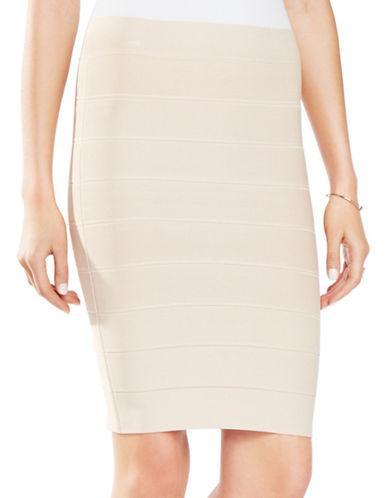 Bcbgmaxazria Alexa Slim-Fit Pencil Skirt-PINK-X-Small