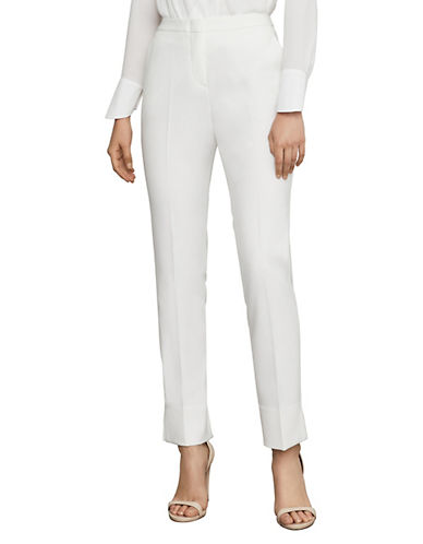 Bcbg Maxazria Tarik Straight-Leg Trousers-NATURAL-4