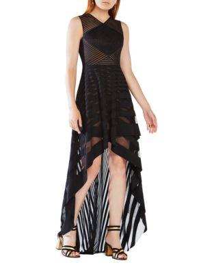 Keanna Hi-Lo Mesh Dress