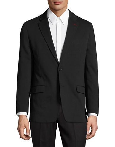 Tommy Hilfiger Stretch Performance Knit Blazer-BLACK-42 Regular
