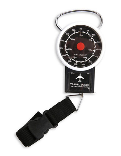 Kikkerland Travel Luggage Scale-BLACK-One Size