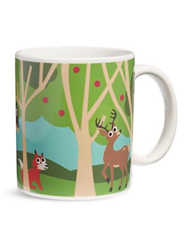 Kikkerland Woodland Morph Mug-MULTI-One Size