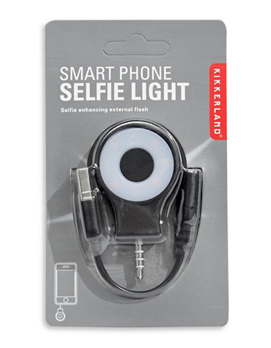 Kikkerland Selfie Light-BLACK-One Size