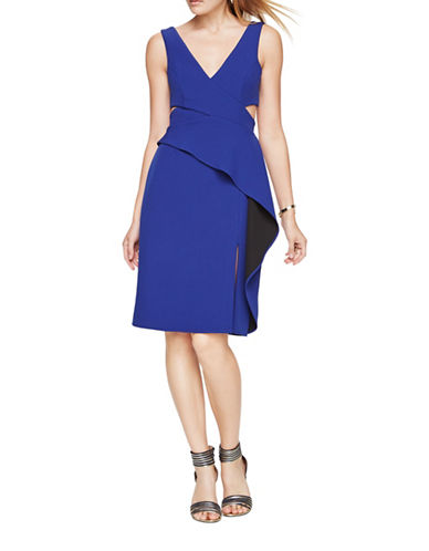 Bcbg Maxazria Riya Evening Dress-BLUE-0