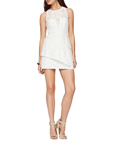 Bcbg Maxazria Daegan Lace Dress-NATURAL-2